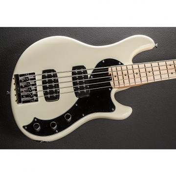 Custom Fender American Standard Dimension V HH Bass 2014 Olympic White