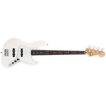 Custom Fender Jazz Bass Standard (MEX, RW) - arctic white