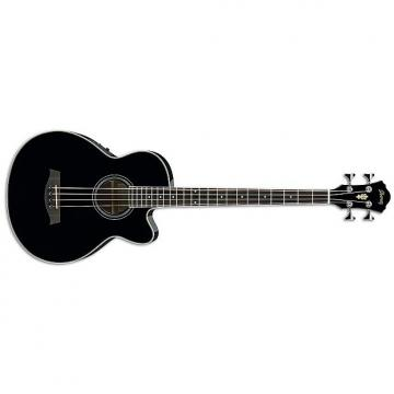 Custom Ibanez AEB8E-BK - Black - black