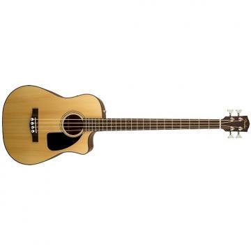 Custom Fender CB-100CE Bass - natural satin
