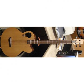 Custom 2000 Tacoma Thunderchief CB10E3 Natural Satin Acoustic-Electric Bass Guitar