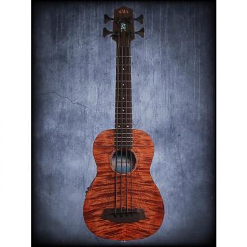 Custom Kala U Bass Exotic Mahogany Fretted