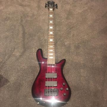 Custom Spector ReBop 4 DLX Mid 2000s Cherry red