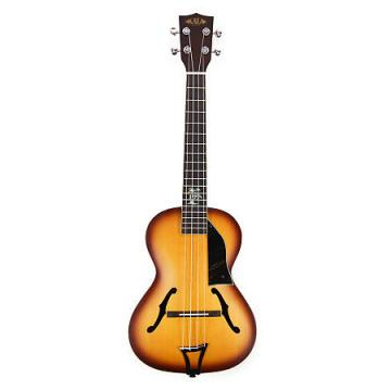 Custom Kala KA-JTE-HBC Custom Honey Burst Tenor Archtop Ukulele with EQ