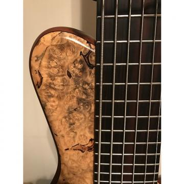 Custom Benavente Single Cut Design (SCD) Custom Thru Neck USA 2008 Buckeye Burl