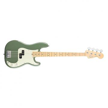 Custom Fender American Professional Precision Bass Maple Neck Antique Olive