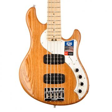Custom Fender American Elite Dimension V Bass in Natural - US16030892 - 10.6 pounds  Natural