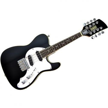 Custom Eastwood Guitars Mandocaster - Black DEMO