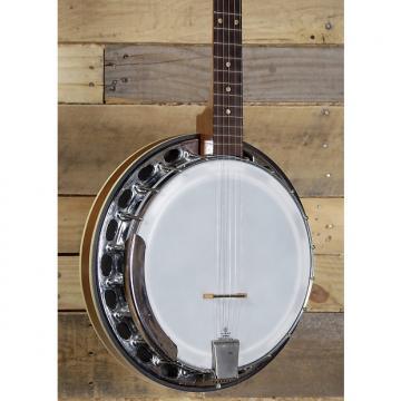 Custom Strom 1970's 5 String Banjo Resonator Back w/ Case