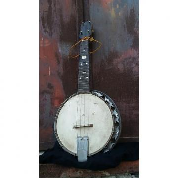 Custom Banjo Banjolele Banjolin Tenor Banjo Ukelele N/a 1910-1940 Curly maple Natural