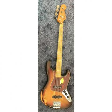Custom Fender Jazz Bass 1973 3 Color Sunburst