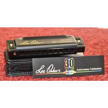 Custom Lee Oskar 1910 Key C Major Diatonic 30th Anniversary Limited Edition Harmonica - Free World Shipping