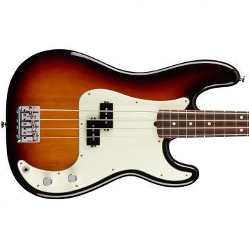 Custom Fender American Pro Precision Bass, Rosewood Fingerboard - 3 Colour Sunburst
