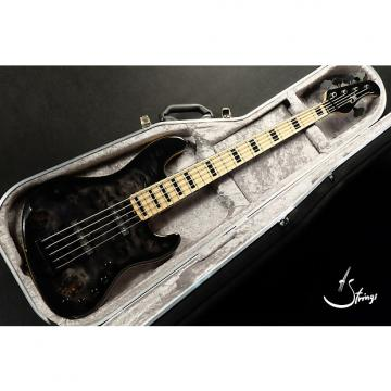 Custom Mayones Jabba 5 Custom  Trans Black Burst Gloss