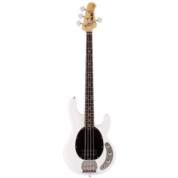 Custom Musicman SUB Series Ray4 Bass Guitar - White