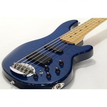 Custom Lakland SK-4DX Skyline Series Transparent Blue