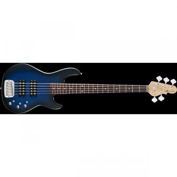 Custom G&L Tribute Series L-2500 5-String Bass - Blueburst