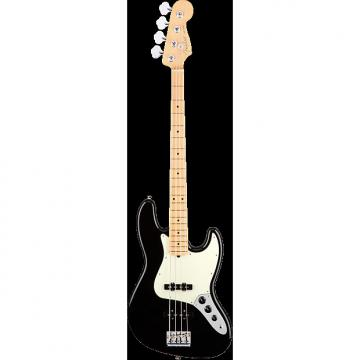 Custom Fender 2017 American Pro Jazz Bass MN - Black
