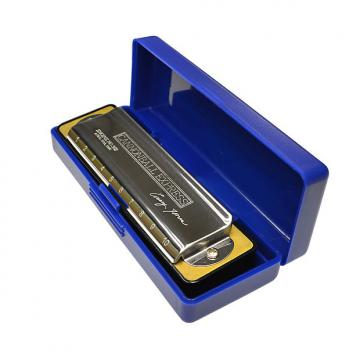 Custom Excalibur Weltbesten-Casey-Jones-Signature-Model-Harmonica-Key-of-Ab