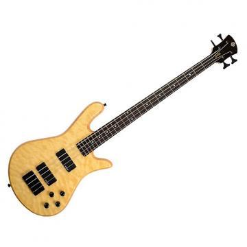 Custom Spector Legend 4 Electric Bass - Natural Oil