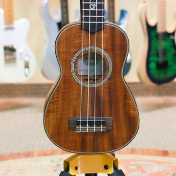 Custom Kala KA-ASAC-S Solid Acacia Ukulele - Soprano - Preowned