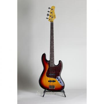 Custom Suhr Classic J Antique Bass w/ Case - 3 Tone Burst