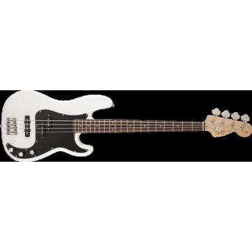 Custom Squier Affinity PJ Bass - Olympic White