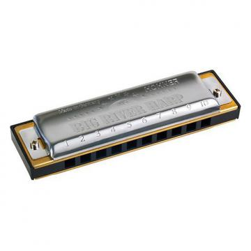 Custom Hohner Big River Harmonica, Key of G