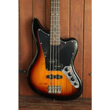 Custom Squier Vintage Modified Jaguar Bass Sunburst