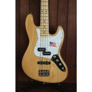 Custom SX PJ Bass Ash Natural Solidbody Electric Bass Guitar