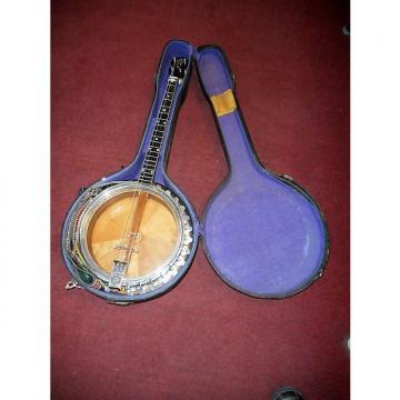Custom Vega  Vintage Vegaphone Professional Pie Plate Resonator 4 String Banjo  30's-40's