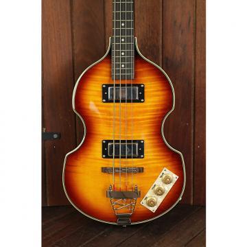 Custom Epiphone Viola Semi-Hollow Electric Bass