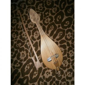 Custom Excellent Vintage Bulgarian Rebec – bow - Gadulka string musical instrument 1984