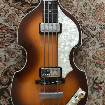 Custom 62 Hofner 500/1 Violin Bass, German made.