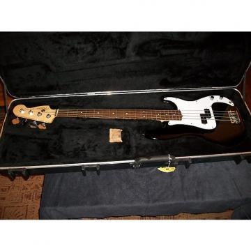 Custom Fender American Standard Precision Bass 2012 Black / White