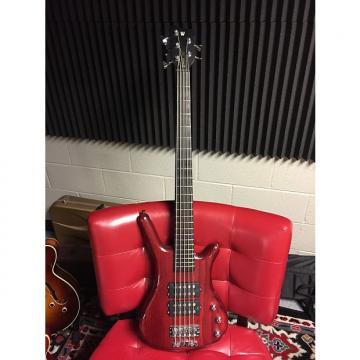 Custom Warwick RockBass Corvette Classic 5-String 2000's Transparent Wine Red