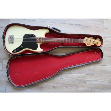 Custom Fender Musicmaster Bass 1977 Olympic White
