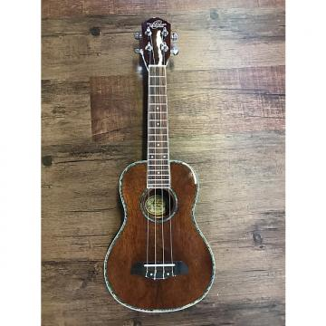 Custom Oscar Schmidt OU5E Ukulele Acoustic/Electric Concert Hawaii Koa