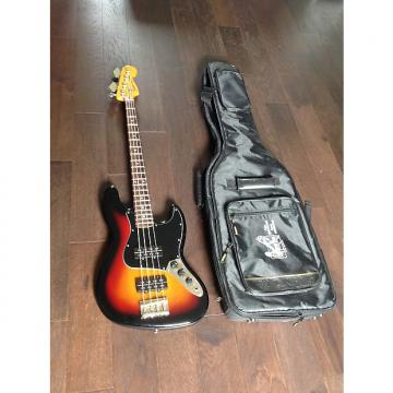 Custom Fender Modern Player Jazz Bass Sunburst Humbuckers Padded Gig Bag