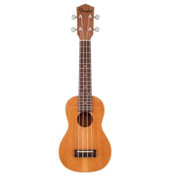 Custom FENDER Piha'eu Soprano Ukulele Rosewood Fretboard Natural