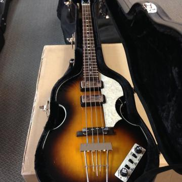 Custom Hofner CT 500/1 Cavern Violin Bass Sunburst designed in geramany german electronics