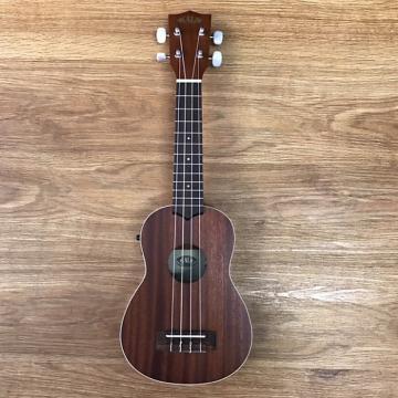 Custom Kala KA-SE Mahogany Series Soprano Ukulele with EQ Mahogany