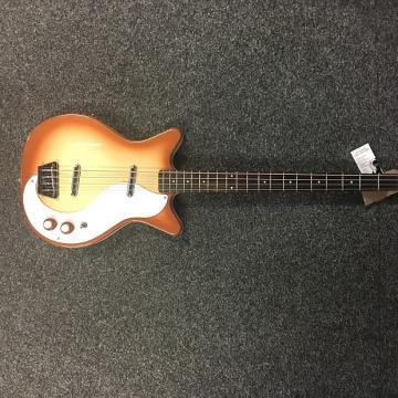 Custom Danelectro 59DCCB Long Scale Bass Copper Burst