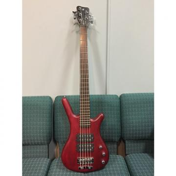 Custom Warwick  Corvette 5 rockbass with gator case 2014 (RED)