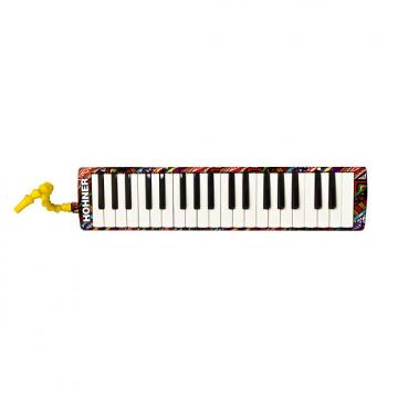 Custom Hohner Airboard 37 Tribal Print - 37-Key Airboard, Carry Bag with Mouthpiece & Gigbag