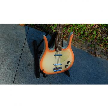 Custom Danelectro 58 Longhorn Bass - Original Reissue 1990s Copper Burst W/Gig Bag