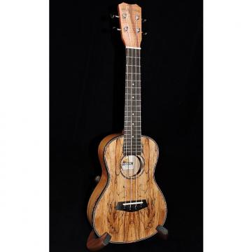 Custom Islander By Kanile'a MAC-4-G Spalted Maple Concert Gloss Ukulele