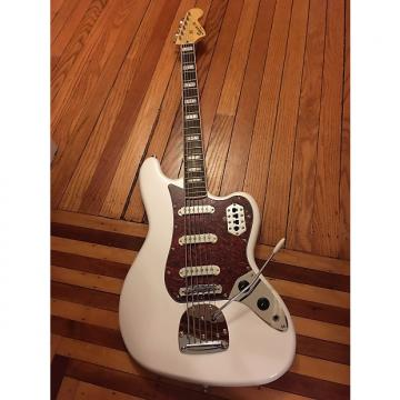 Custom Squier Bass VI White