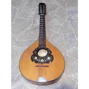 Custom fine old PERLGOLD quality Bass WALDZITHER big huge 9string mandolin mandola GERMANY 1930s
