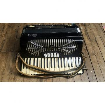 Custom vintage Sonola by Rivoli accordian made in Italy model R241L with original suitcase FREE SHIPPING